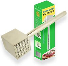 Meat Tenderizer Roller Stainless Steel Hammer Mallet For Steak Beef Chicken Tool