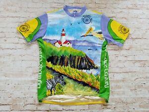 Voler VTG 2001 Men's San Luis Obispo California Made in USA Cycling Jersey XL