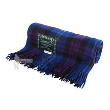 75% Laine Écossais Tweed Tartan Tapis/Couverture/plaid-Heritage of Scotland