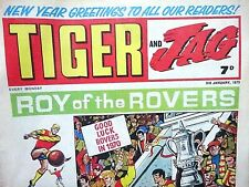 TIGER & JAG - NEW YEAR !! 3rd JANUARY 1970 (see dates) 50th BIRTHDAY GIFT..beano