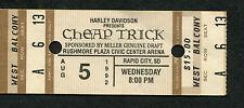 1992 Cheap Trick Unused Full Concert Ticket Rapid City Sd Dream Police