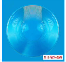 2pc 75mm Dia Optical Plastic Fresnel Lens Focal Length Wide Angle Minifier Lens