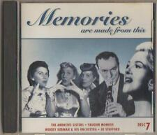 C.D.MUSIC D138   MEMORIES ARE MADE FROM THIS   VARIOUS ARTISTS  DISC 7  CD