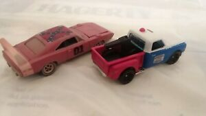 Hot wheels Custom Dukes of Hazzard Cooter's Tow truck/ General Lee Barn Finds