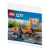 LEGO® City Set 30357 /  Baustellen Absicherung mit Figur / Polybag