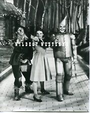 VINTAGE Wizard of Oz JUDY GARLAND Ray Bolger JACK HALEY Pointing PHOTO rare