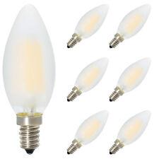 6x E14 Dimmbar LED Kerzenform Warmweiss 2700K, C35 4W, 360º Abstrahlwinkel