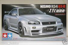 Tamiya 24282 Nismo Nissan Skyline GTR R34 Z-Tune BNR34 Fenders LM GT4 Model Kit