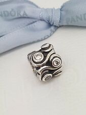 Pandora Genuine Sterling Silver OCEAN WAVE CHARM with CZ (790369CZ) RRP $69