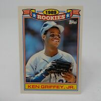 1990 TOPPS 1989 ROOKIES COMMEMORATIVE SET #11 KEN GRIFFEY JR.