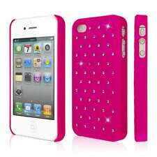 EMPIRE GLITZ Slim-Fit Case for Apple iPhone 4 / 4S - Bling Accent Hot Pink