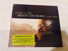 Bruce Cockburn Slice O Life Live Solo 2 Cd Set Brand New Free Shipping