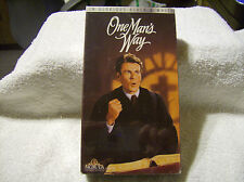One Man's Way 1993 VHS TAPE /BRAND NEW / FACTORY SEALED