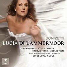 Donizetti: Lucia Di Lammermoor - Diana Damrau, Ludovic Tézier, Joseph  (NEW 2CD)