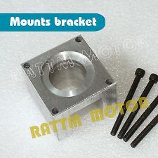 Nema23 Stepper Motor Mount Bracket Block Base Support+4PCS Screws for CNC Router