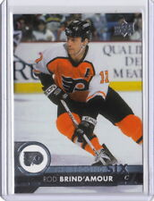 17/18 Upper Deck Series 1 The Second Six #10 Rod Brind`Amour Flyers