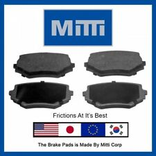 Replacement Front Disc Brake Pad Semi-Metallic For Suzuki Grand Vitara 1999-2005
