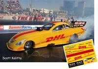 CD_ MM_011-C  Scott Kalitta   DHL Funny Car  1:24 Scale DECALS