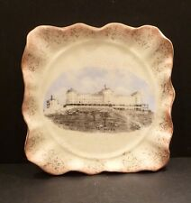 Hampshire Pottery Tea Tile in Royal Worchester Finish - RARE