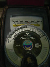 Gossen Luna-pro  light meter & case 100% working & Nice case 100%