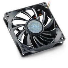 "Lot of 4  80x80x15mm Cooler Master R4-SPS-20AK-GP Cooling Fans 3 1/8 x 5/8"" Slim"
