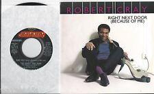ROBERT CRAY * 45 * Right Next Door (Because Of Me) * 1986 * DJ Long /Short PROMO