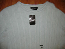 NWT Steve & Barry's Cable Knit Crew Sweater Size XL