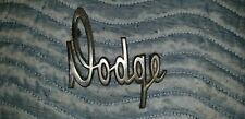 MOPAR DODGE A-100 A-108 VAN PICK-UP DOOR SCRIPT EMBLEM PETINA HARD TO FIND