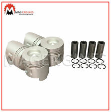 PISTON & RING SET MITSUBISHI 4D32 NEW FOR CANTER FUSO TRUCK 3.6 LTR DIESEL