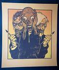 Jermaine Rogers - Art is DEAD - Orange - van gogh warhol edvard munch scream
