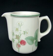 Wedgwood 1980's Raspberry Cane 300ml Tea Size Milk Cream Jug 10cmh Looks in VGC