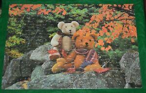 VTG Milton Bradley Teddy Bears 100 Piece 11x16 Inch Jigsaw Puzzle 1989 4828-18