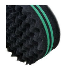 Green Wave Spin Barber Hair Sponge Brush for Dreads Locking  Twist  Curl Coil