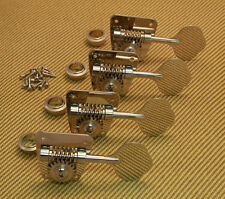 TK-0882-001 Gotoh Nickel Full Size Clover Leaf Bass Tuners For 1968- 82 Fender