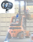FORKLIFT Blue LED Light with Arrow Bottom. Free shipping New. Upside Down Mount