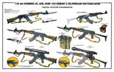 Color POSTER Poland Polish AK47 AKM Rifle Kalashnikov manual 7.62 LQQK  BUY NOW!