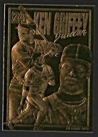 Ken Griffey Jr 1996 Bleachers 23KT Gold Baseball Card Seattle Mariners