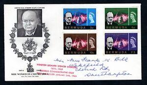 Bermuda - 1966 Churchill First Day Cover
