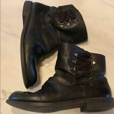 Nine West | Black Leather Booties | 7.5
