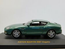 1/43 IXO Aston Martin DB7 Zagato Metallic Green #MOC058