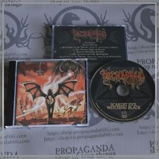 "NECROMANTIA ""Scarlet Evil Witching Black"" cd, Black Metal, 2014, re-issue"