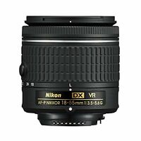Nikon 18-55mm f/3.5-5.6G VR AF-P DX NIKKOR Zoom Lens - New AFP Stepping VR Motor