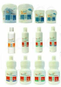 TRUZONE CREAM PEROXIDE, RAPID BLUE/WHITE POWDER BLEACH HAIR COLOURING/HIGHLIGHTS