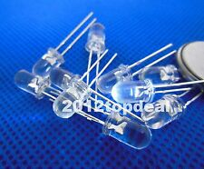 20pcs 5mm Cyan 490-500nm LED diode High Luminous for Traffic Lights