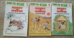 Lot of 3 HENRY and MUDGE Series Books Cynthia Rylant NEW Level 2 Ready to Read