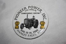 2005 31st Hanley Falls MN Minnesota Pioneer Power Inc. Threshing Show Button