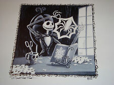 Disney--DLR-Nightmare Before Christmas--Jack Skellington Watch & Artwork--LE 100