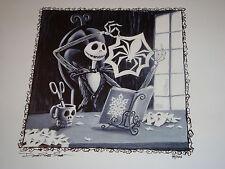 Disney--DLR-Nightmare Before Christmas--Jack Skellington Watch & Artwork--LE 100