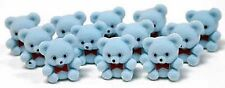 MINI Blue Baby Teddy Bears Pkg of 24 Party Bag baby shower Favor decorations NEW