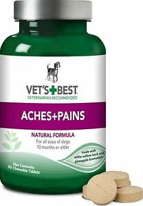 Vet's Best Aches + Pains Dog Supplement    Free Shipping
